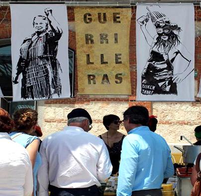Guerrilleras Creación y programación artística Guerrilla FSS
